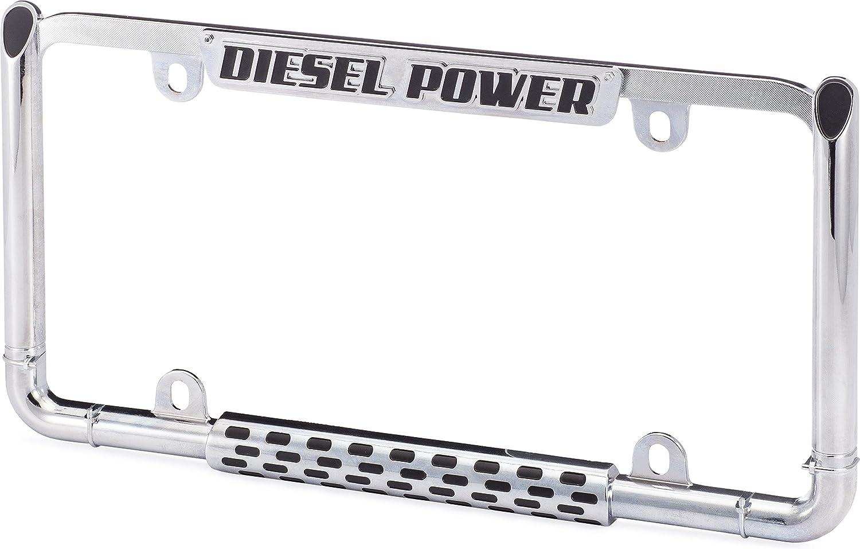 Cruiser Accessories 22003 Chrome//Black Diesel Power