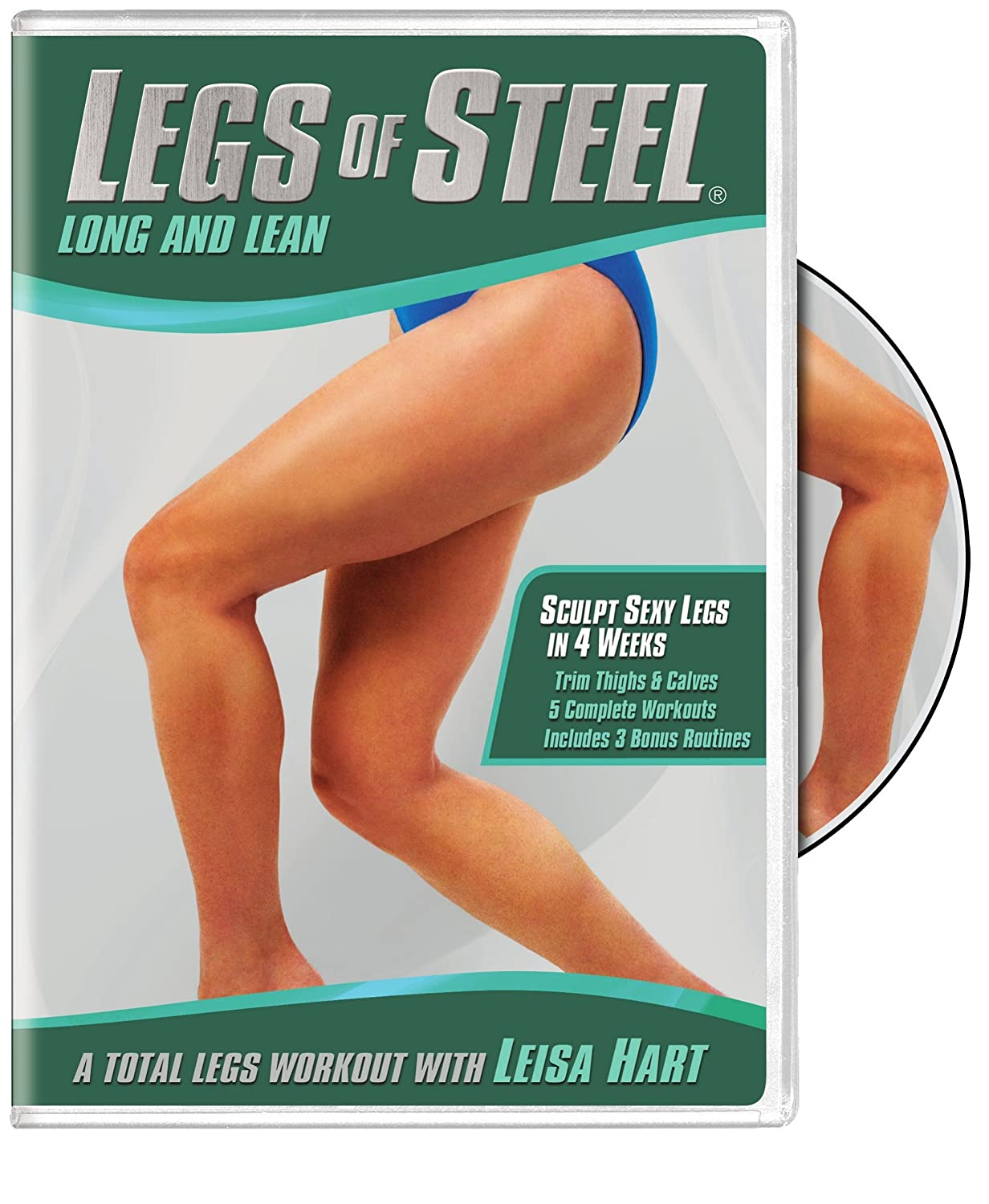 Legs of Steel: Long and Lean Leisa Hart Warner Bros. Home Video 5072309 Fitness/Self-Help