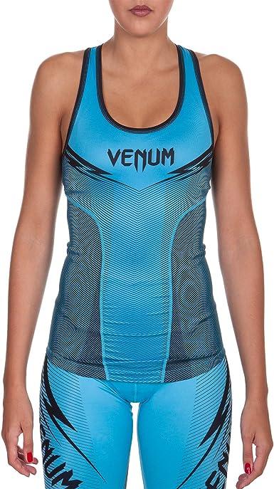 Blue Venum Women/'s Assault Fitted Tank Top
