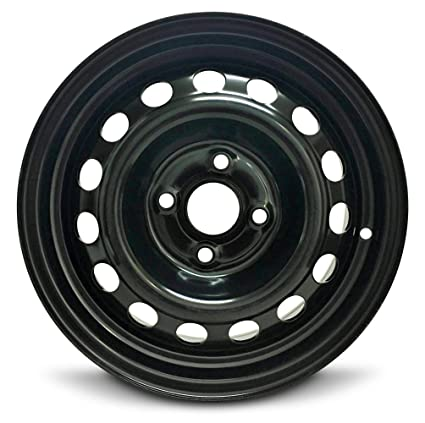 Amazon.com: Kia Rio 14 inch 4 Lug Steel Rim/14x5.5 4-100 Steel Wheel: Automotive