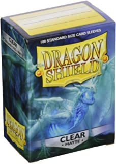 100 Dragon Shield Standard Perfect Fit Sleeves Clear Sealable #13201