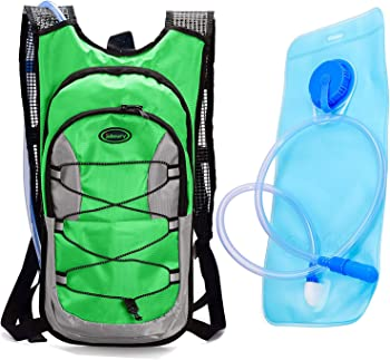 Juboury 15L Hydration Rucksack Backpac w/ Free 2L Water Bladder