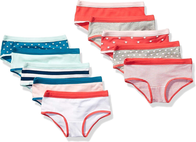 Essentials 10-Pack Hipster Underwear Bambina
