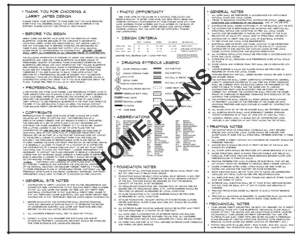 Amazon.com: SQ FT HTD ? UNHT ? Plan # J-1214 Home/House ...