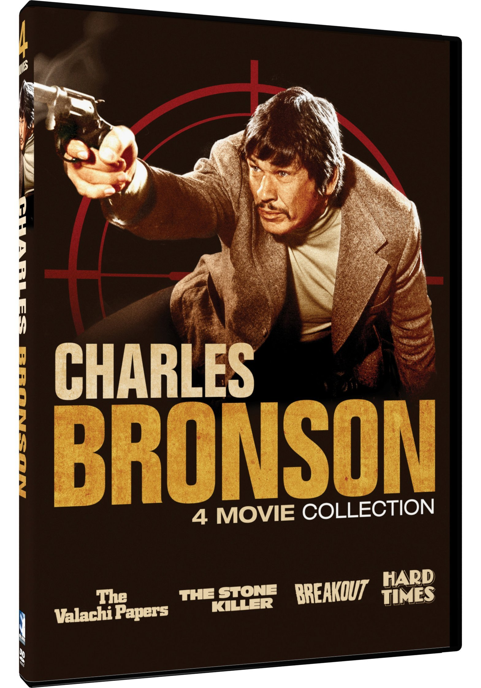 DVD : Charles Bronson: 4 Movie Collection (2 Pack, 2PC)