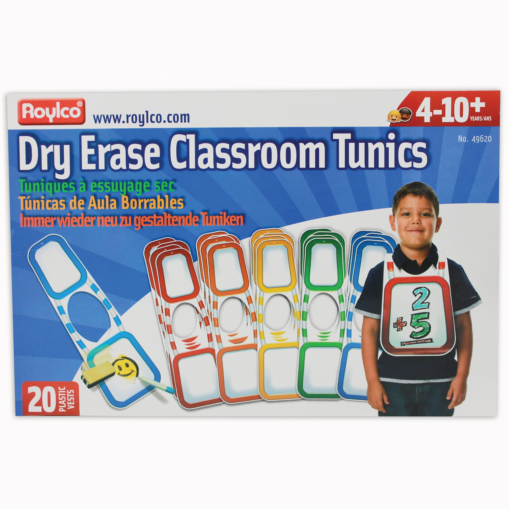 Roylco R49620 Dry Erase Classroom Tunics