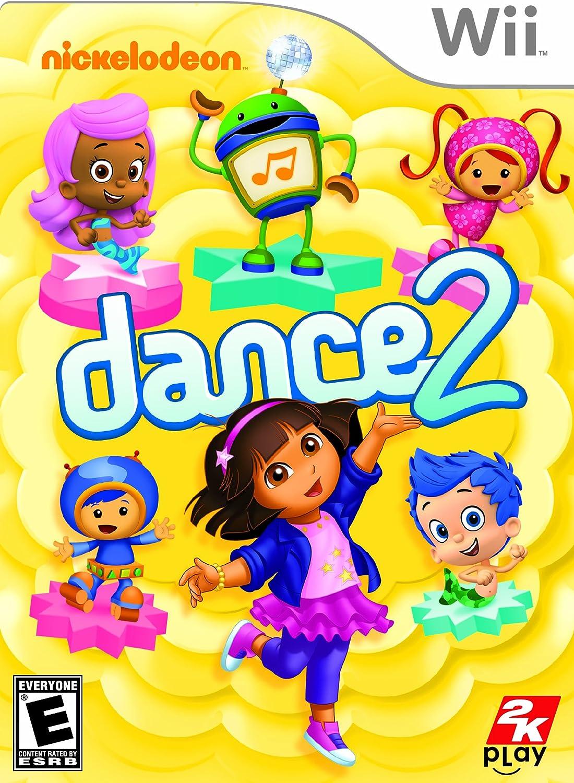 amazon com nickelodeon dance 2 xbox 360 video games