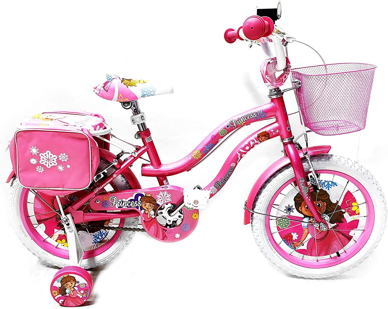 Reset - Bicicleta para niña de 14 Pulgadas, 2 Frenos de Princesa ...