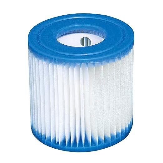 6 x Intex cartucho de filtros 29007 para Quick Up Piscina ...