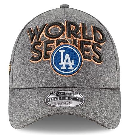 Amazon.com   New Era Los Angeles Dodgers 39THIRTY 2017 NLCS Champions  Locker Room Men s Hat   Sports   Outdoors 4b0f6e6b0ca