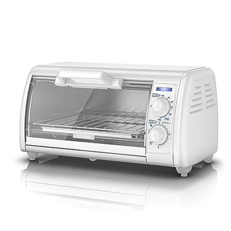Review BLACK+DECKER 4-Slice Toaster Oven,