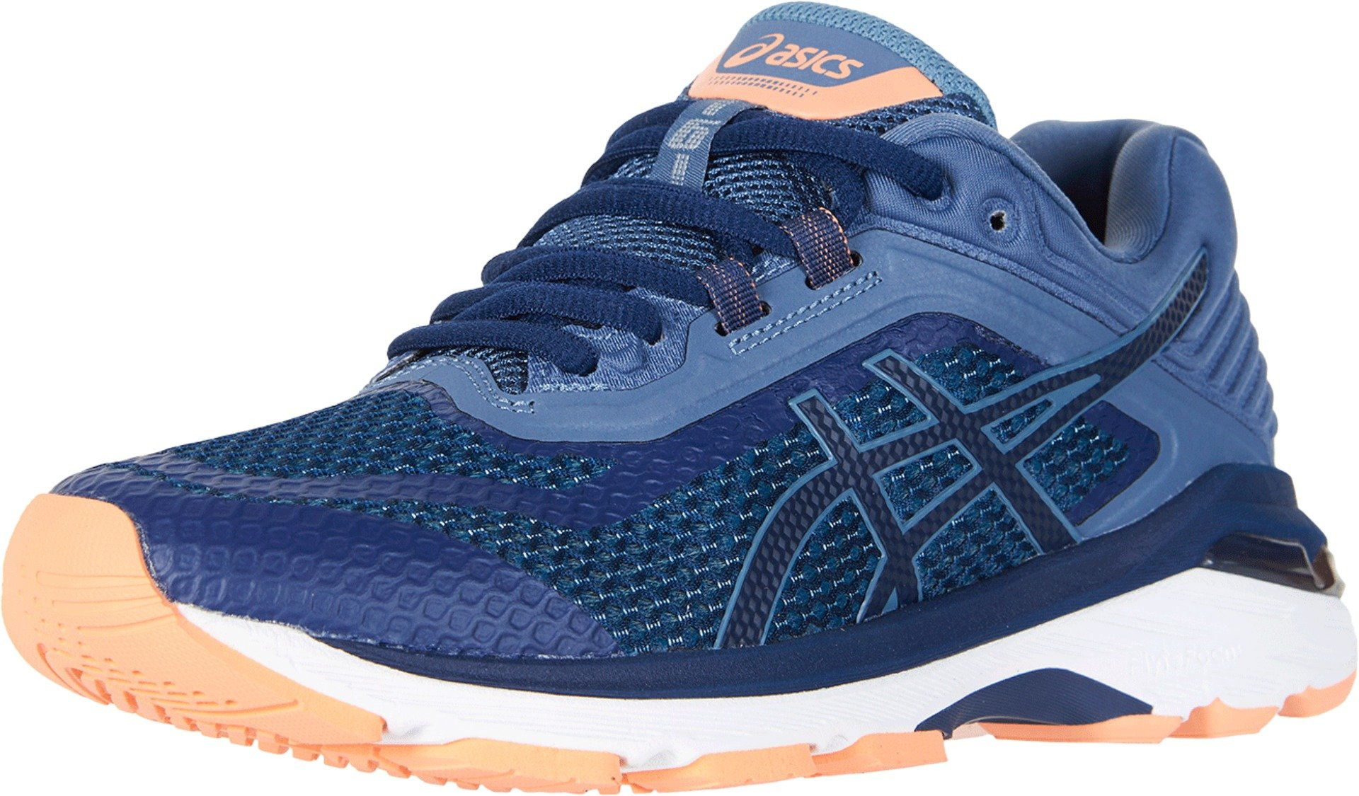ASICS Women's GT-2000 6 Running Shoe, Indigo Blue/Indigo Blue/Smoke Blue, 5 XW US
