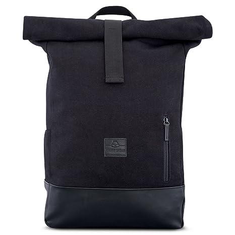 Johnny Urban Sac à Dos Homme & Femme Sac de Toile en Coton avec Couvercle Basculant – Daypack Durable Haute Qualité – Sac Vintage 18 22 litres