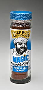 Chef Paul Prudhomme's Magic Seasoning Blends ~ Pork & Veal Magic, 2-Ounce Bottle