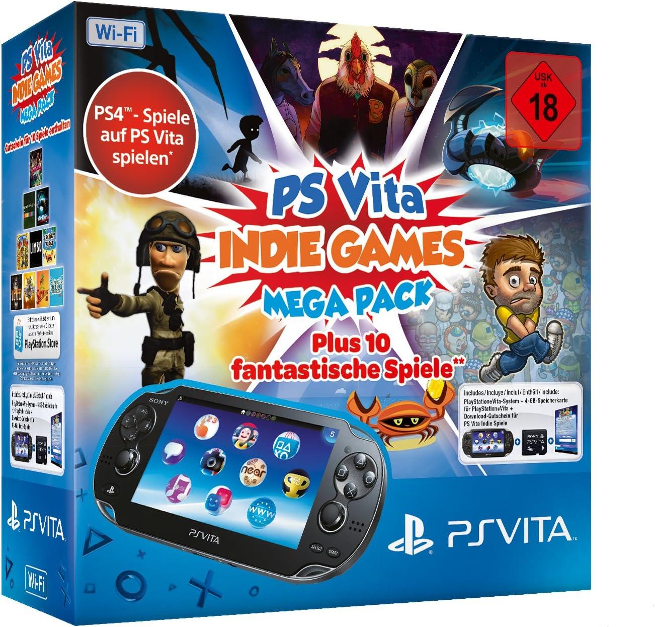 Sony PS Vita WiFi - Indie Games Mega Pack - videoconsolas ...