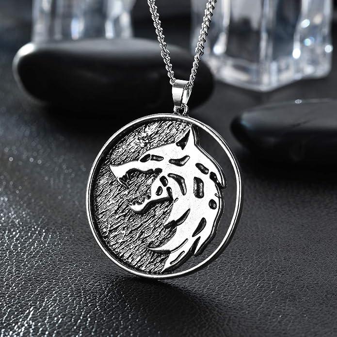 Stranger Things Demodog Demogorgon Necklace Alloy Cosplay Prop Pendant Chain