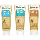 REDMOND - Earthpaste All Natural Non-Fluoride Vegan Non GMO Real Ingredients Toothpaste, Wintergreen, 4 Ounce Tube (Variety P
