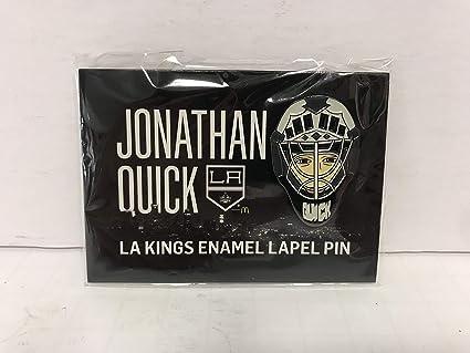 quality design 338a8 dc386 Jonathan Quick LA Kings Collectible Enamel Lapel Pin NHL ...