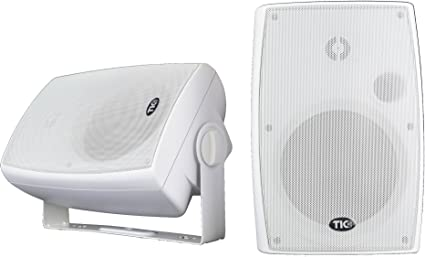 """TIC WPS6-W 6.5/""""Outdoor Weather-Resistant Wifi Patio Speakers with AirPlay pair"""