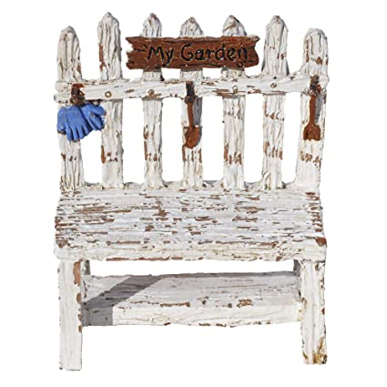 Peachy Amazon Com Miniature Fairy Garden Picket Fence Potting Ncnpc Chair Design For Home Ncnpcorg