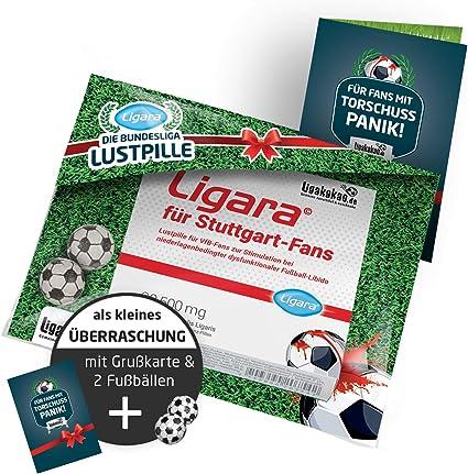 /über Variante mehr verr/ückte Fanar Steigern die Lust am Fu/ßball LIGARA/® Dosiert f/ür VfB Stuttgart-Fans nach Niederlagen Pfefferminz-Pillen Lustpillen f/ür STUTTGART-Fans mit eingeschr/änkter Fu/ßball-Libido