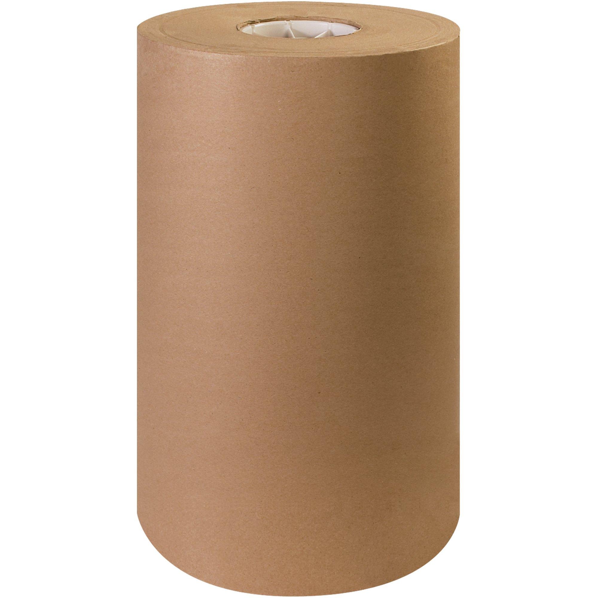 Aviditi 100% Recycled Fiber Paper Roll, 1200' L x 15'' W, Kraft (KP1530) by Aviditi
