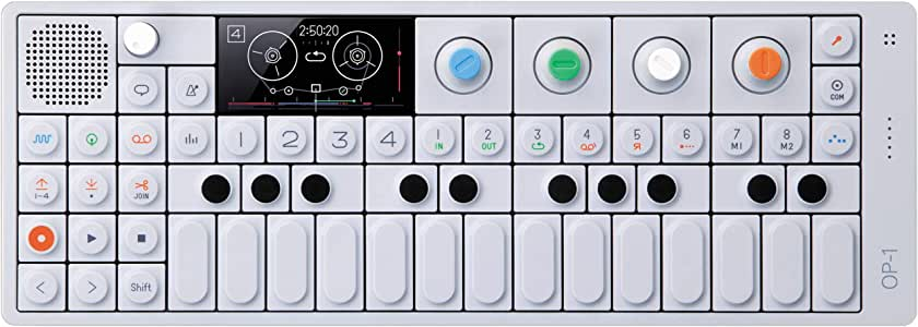 Teenage Engineering OP-1 Portable Synthesizer, Sampler, and Controller with Built-In FM Radio