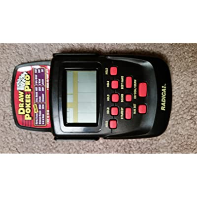 Draw Poker Pro - Electronic Handheld Game (Radica): Toys & Games