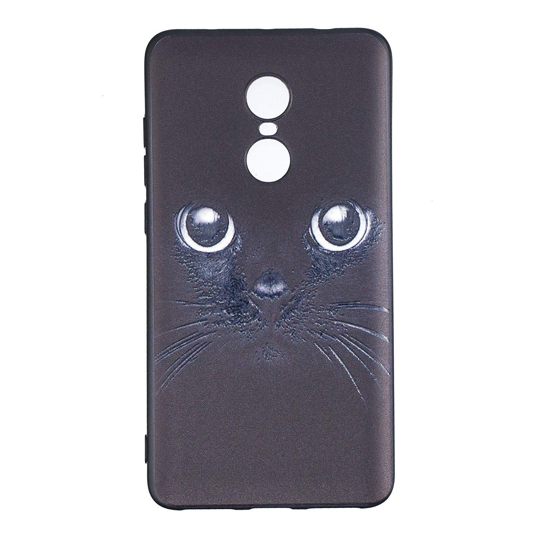 MOSORIS Funda Redmi Note 4 Carcasa Suave Negro Silicona ...