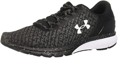 e15e6e62d6 Under Armour Men's Charged Escape 2 Man Shoes, Black White 002, Size ...