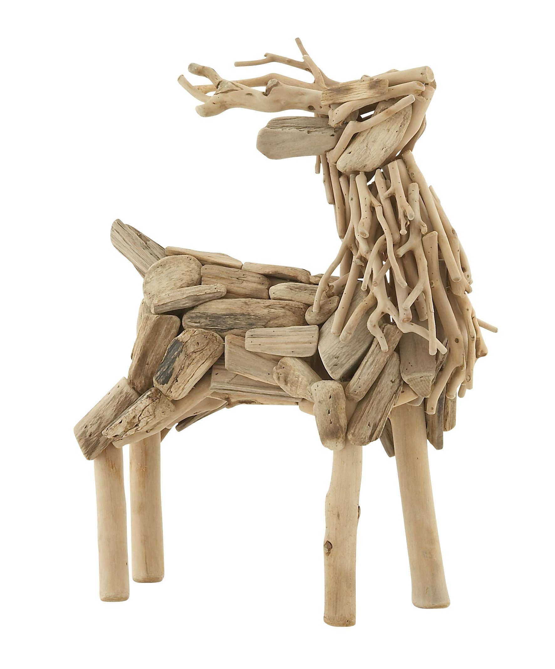 Plutus Brands Creatively Styled Driftwood Deer