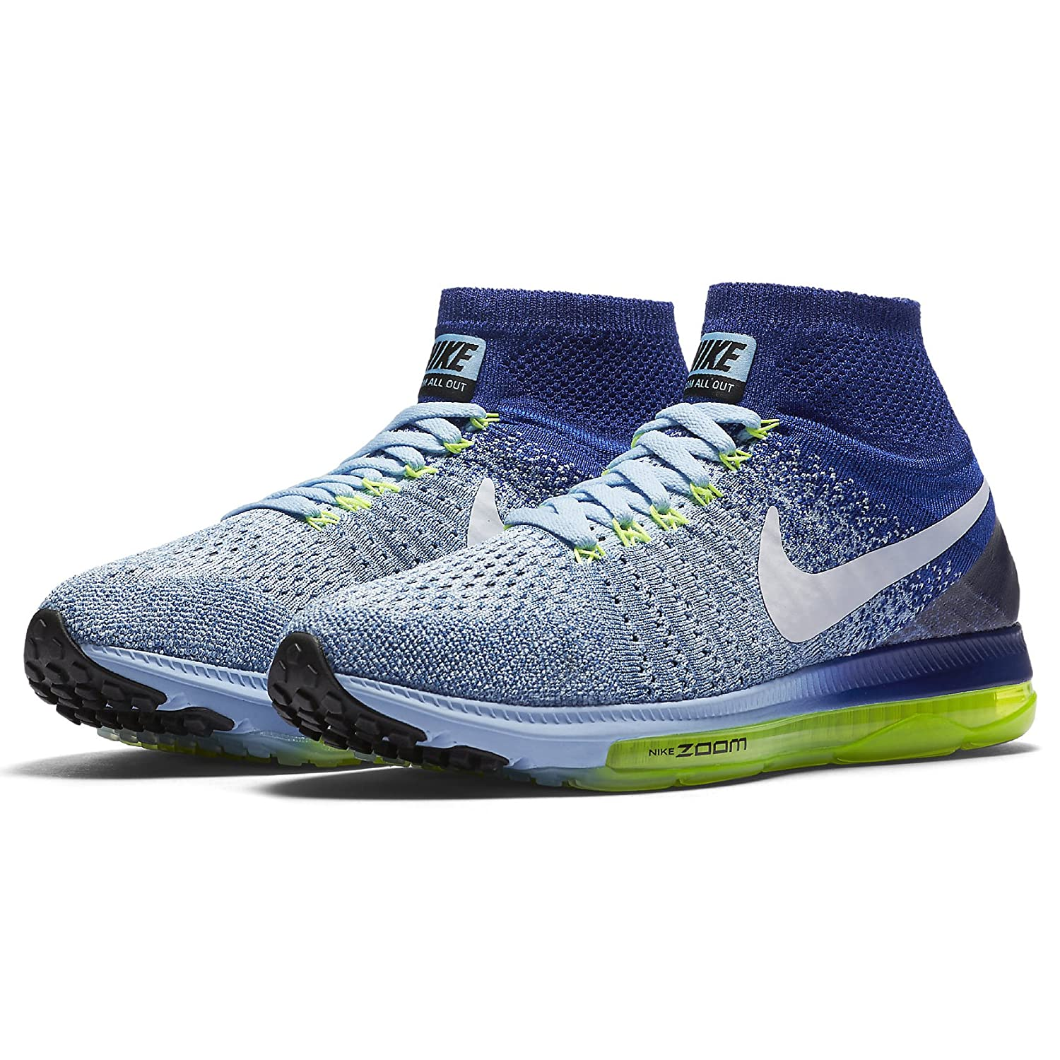 1a1a7daac35ab ... Zapatillas mujer para correr 19925 Nike Zoom All Out Flyknit All para  mujer Bluecap White 400 ...