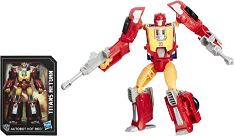Transformers Generations Titans retour Autobot Hot Rod et firedrive