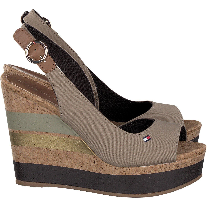e04b1c4b16b Tommy Hilfiger FW0FW00858 Wedge Women BEIGE 36  Amazon.co.uk  Shoes   Bags