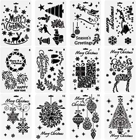 Imagination Crafts Festive Fun Stencil