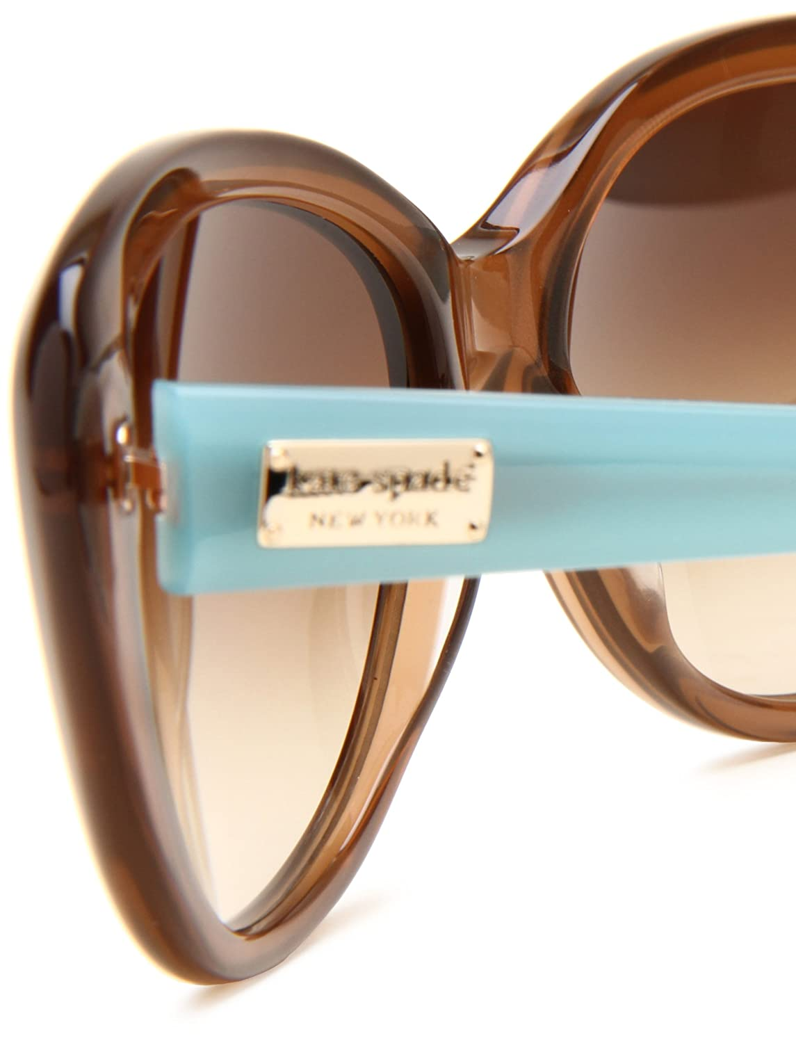 e3db0f88b4 KATE SPADE ANGELIQUE S Sunglasses 0JVC Tan 55-16-135  Amazon.co.uk  Clothing