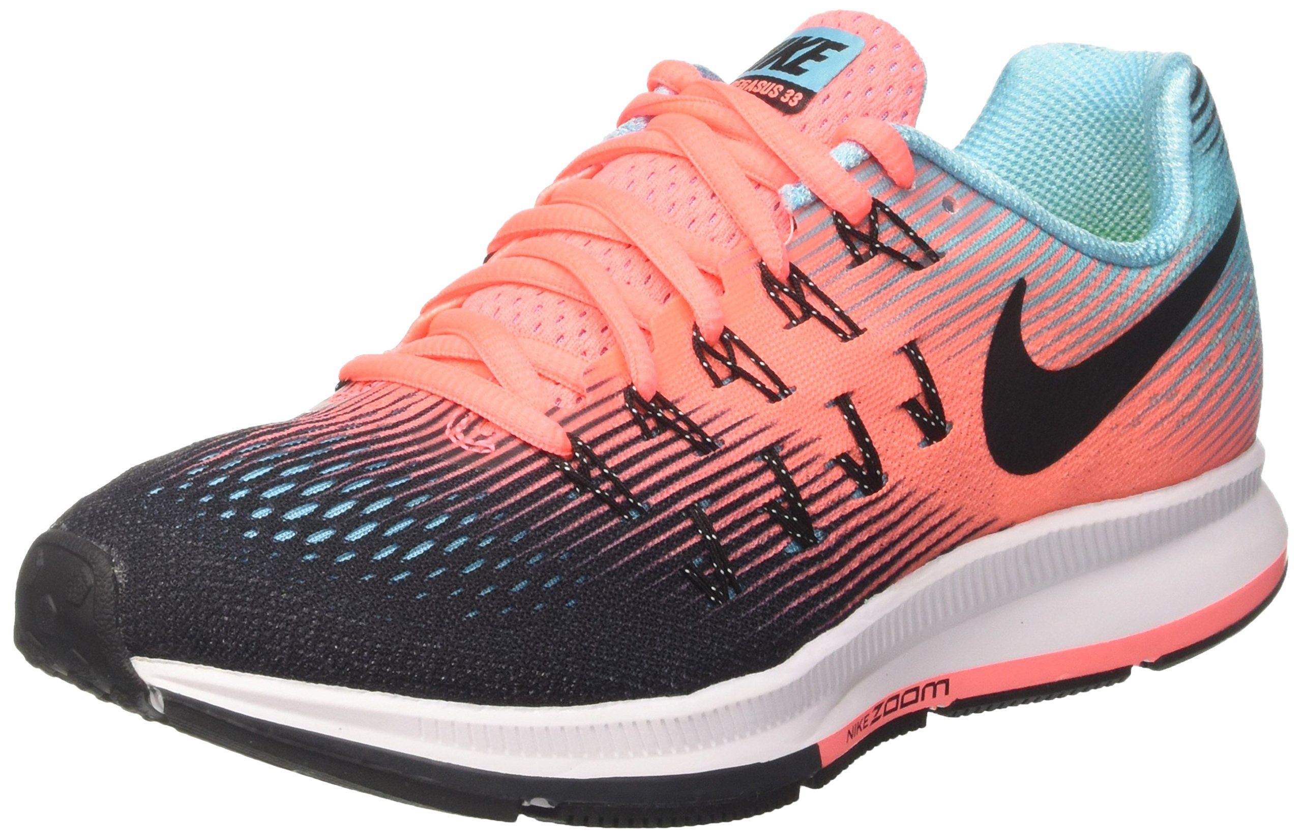 best sneakers 26476 82b5f Galleon - NIKE Women s WMNS Air Zoom Pegasus 33, Black Black-Lava Glow, 7 M  US