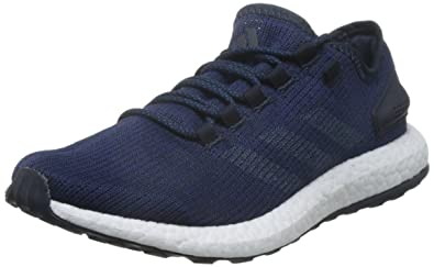11c91f60c adidas Men s s Pure Boost Running Shoes Night Navy core Mystery Blue