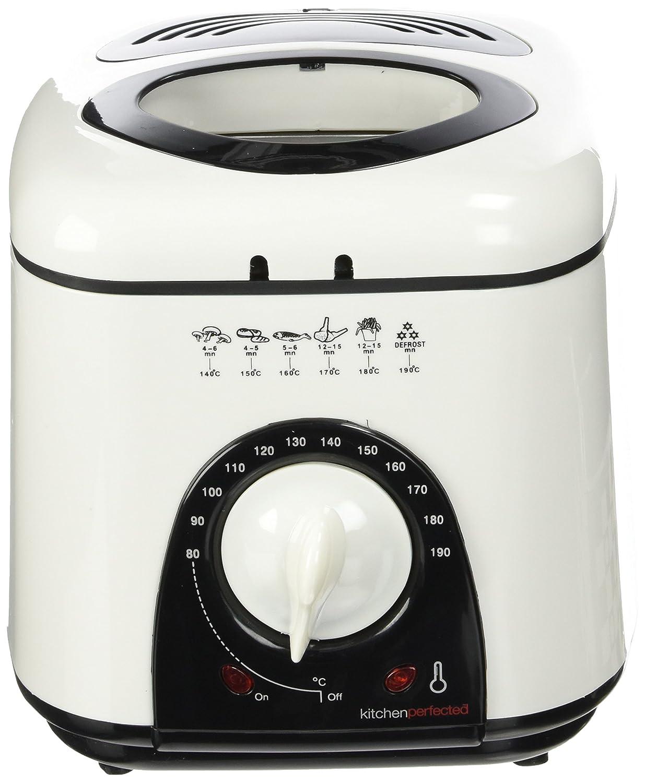 Lloytron E6010WI Kitchen Perfected Compact Deep Fat & Basket Fryer 1 Ltr - 950W