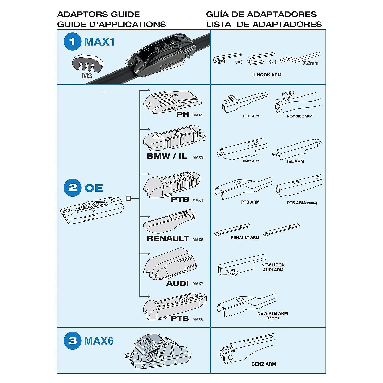 Sumex Acqua41 - Escobilla Limpiaparabrisas Tipo