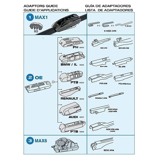 Sumex Acqua48 - Escobilla Limpiaparabrisas Tipo