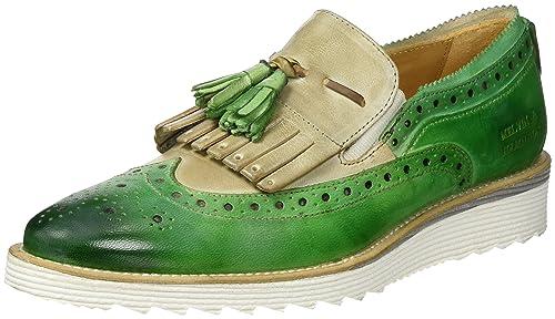 Melvin & HamiltonAmy 10 - Mocasines Mujer, Color Verde, Talla 37