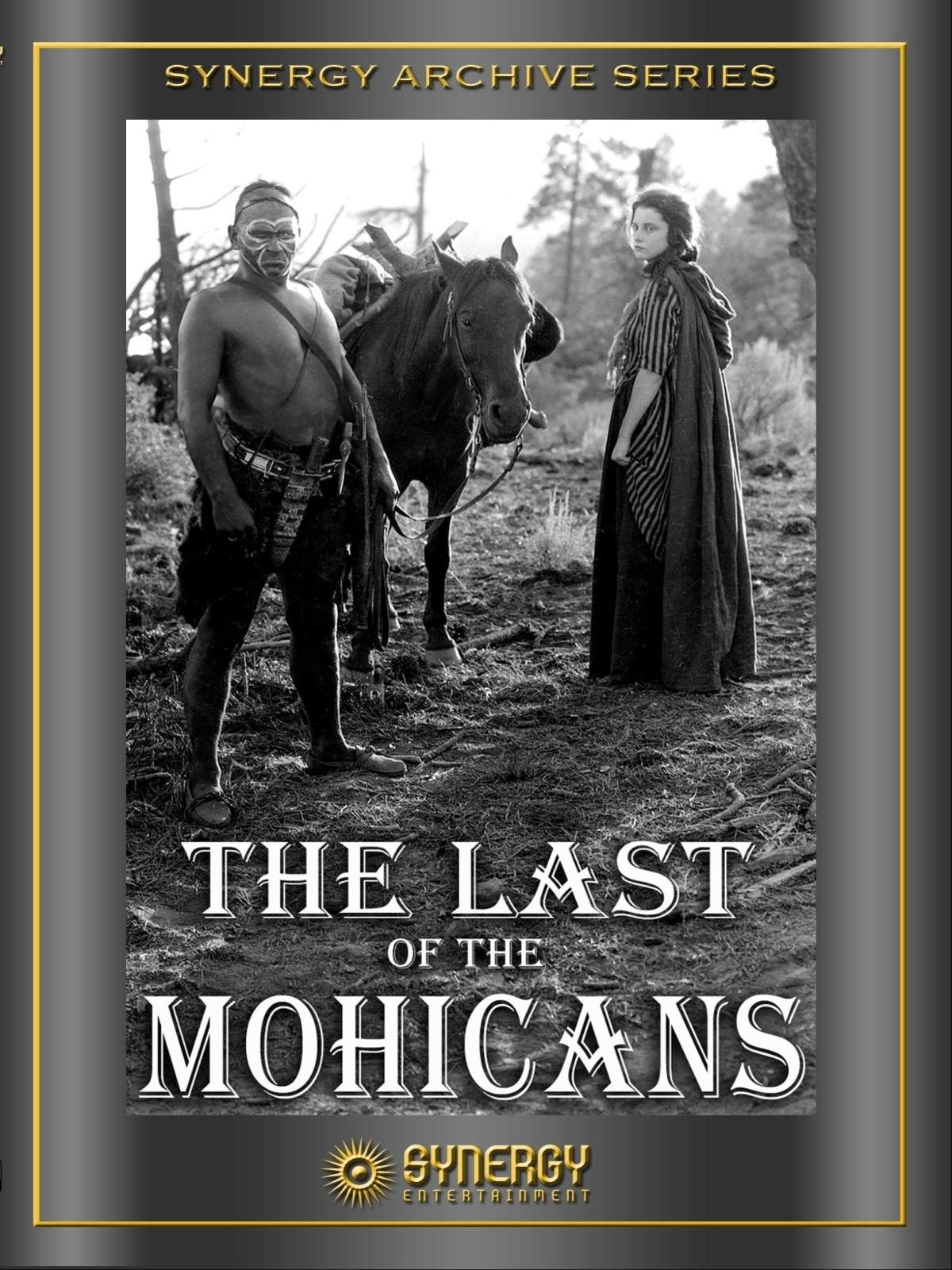 Amazon.com: The Last of the Mohicans (1920 - Silent ...
