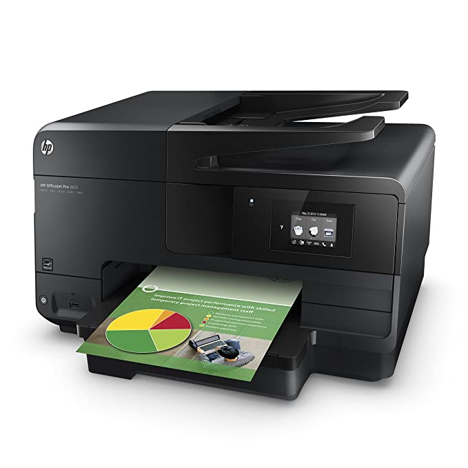 HP Officejet Pro 8615 e-All-in-One - Impresora multifunción (Inyección de tinta, Color, Color, 19 ppm, 4800 x 1200 DPI, 14,5 ppm) Negro