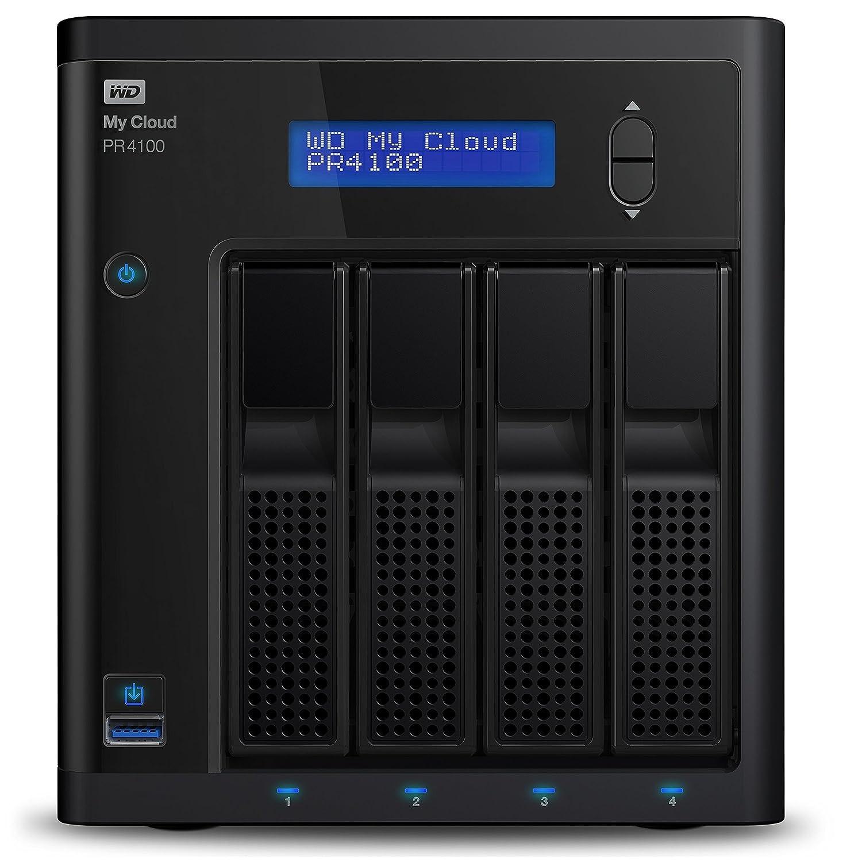 TALLA 40 TB. WD My Cloud Pro Series PR4100 - Almacenamiento en Red (NAS) de 40 TB y Servidor Multimedia con transcodificación