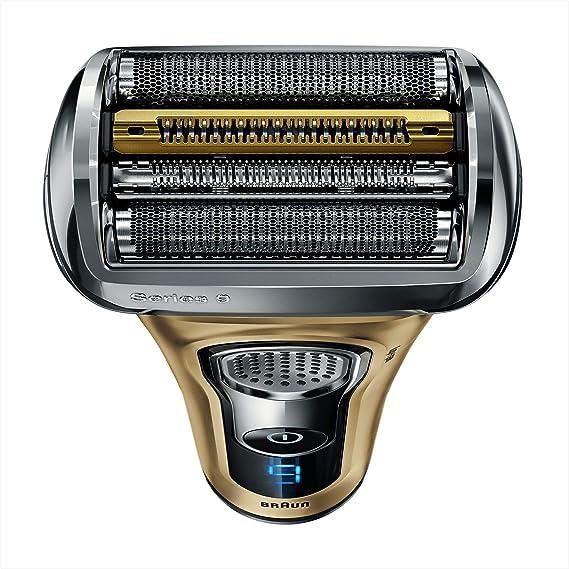 Braun Series 9 9299PS - Afeitadora eléctrica para hombre, en húmedo y seco, máquina de afeitar barba con base cargadora y funda para viaje, edición regalo oro: Amazon.es: Salud y cuidado personal