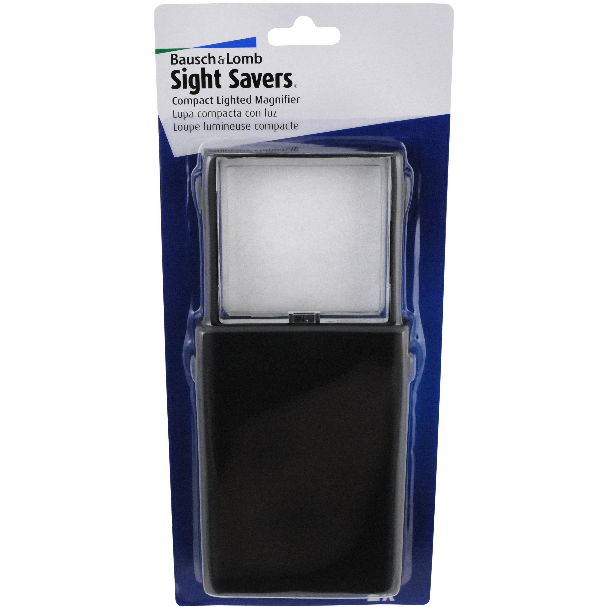 Bausch & Lomb Compact Lighted Magnifier, 2x