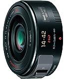 Panasonic 標準ズームレンズ マイクロフォーサーズ用 ルミックス G X VARIO PZ 14-42mm/F3.5-5.6 ASPH./POWER O.I.S. ブラック H-PS14042-K