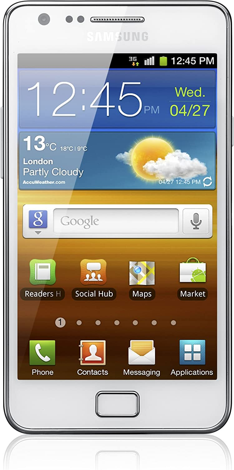 Samsung Galaxy S Ii I9100 Dualcore Smartphone 10 9 Cm 4 3 Zoll Display Touchscreen Android
