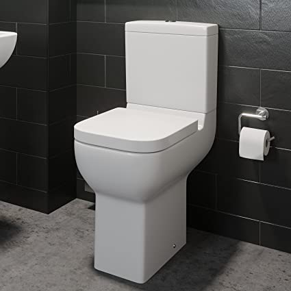 Prime Comfort Raised Height Close Coupled Toilet Bathroom Wc Modern White Ncnpc Chair Design For Home Ncnpcorg